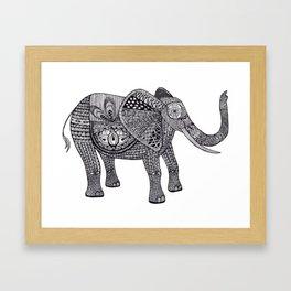 ZenElephant Framed Art Print