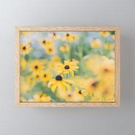 Field of Sunshine Framed Mini Art Print