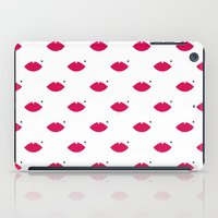 lips iPad Cases featuring lips by namaki