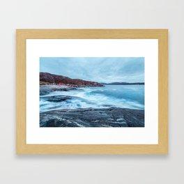 Grense Jakobselv Framed Art Print