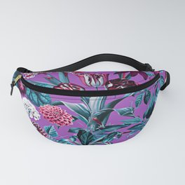 Romantic Floral Pattern Fanny Pack