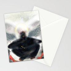 Stone  Angel [Digital Figure llustration ] Stationery Cards