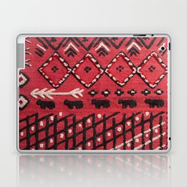 V22 Sheep herd Design Traditional Moroccan Carpet Texture. Laptop & iPad Skin