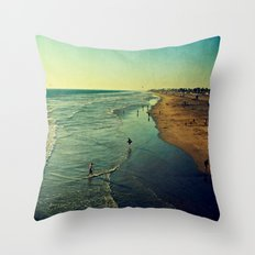 California Dreaming I Throw Pillow