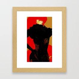 queen of the inhumans  Framed Art Print