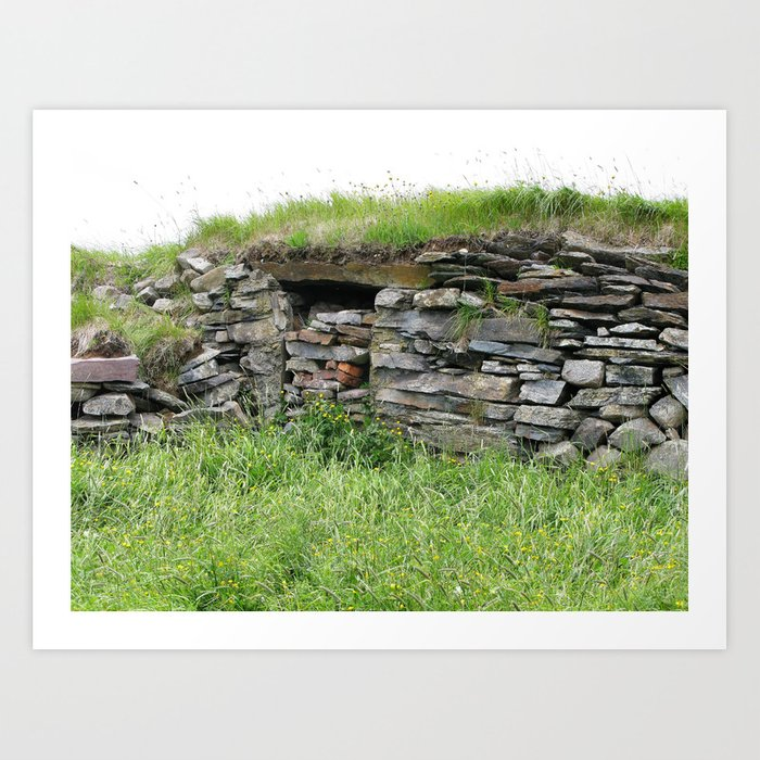 Root Cellar Art Print