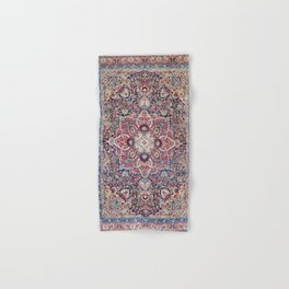 Kashan Central Persian Rug Print Hand & Bath Towel