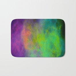 Neon Spacedust Bath Mat