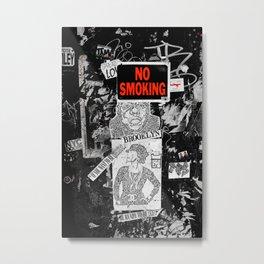 No Smoking Metal Print