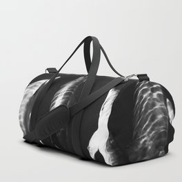 Black and white dolphins Duffle Bag