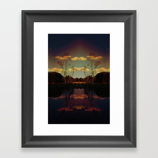 The Way In Framed Art Print