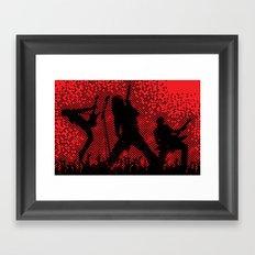 rockstar  Framed Art Print