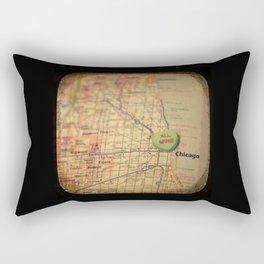 All Mine Chicago Rectangular Pillow