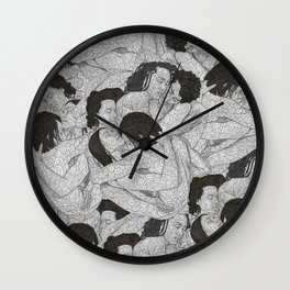 A verse from memory Wall Clock