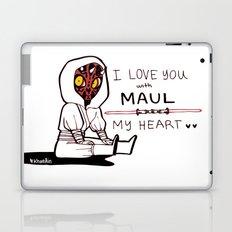 DARTH MAULENTINE Laptop & iPad Skin