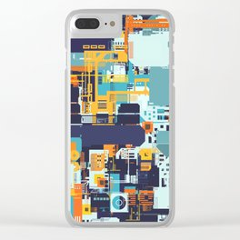 Tech Geek Clear iPhone Case