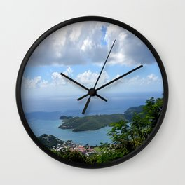 Over the Clouds in St Thomas Wall Clock