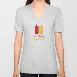 We Belong Together Unisex V-Neck