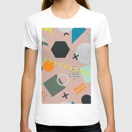 COlorful trendy seamless pattern T-shirt