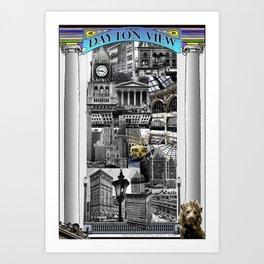 A Dayton View Poster (Second Edition) Art Print