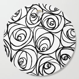 Roses Cutting Board