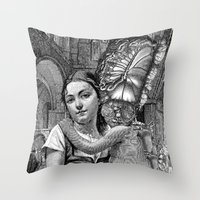 evolution Throw Pillows featuring Evolution by DIVIDUS