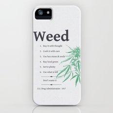Weed Slim Case iPhone (5, 5s)