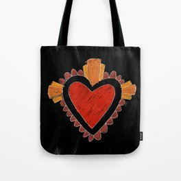 Black love Tote Bag