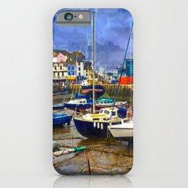 Harbour In Devon UK iPhone Case