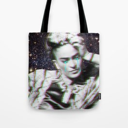 Frida in Space Tote Bag