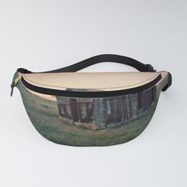 Abandoned Homestead at Sunset Fanny Pack