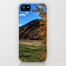 Glenwood Springs Foothills - CO iPhone Case