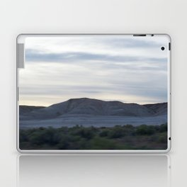 Desolate Death Valley MountainScape With Rare Green Plant Life Spring 2016 Laptop & iPad Skin