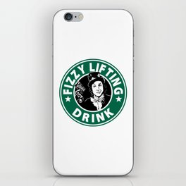 Willy Wonka Starbucks iPhone Skin