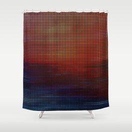 Sunset by Lars Furtwaengler   Digital Interpretation   2013 Shower Curtain