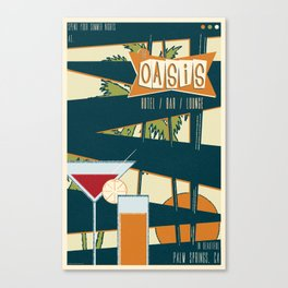The Oasis Canvas Print