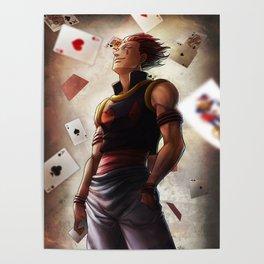 Hisoka (cards) Artwork Poster