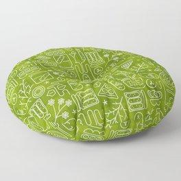 Pickles Picnic Floor Pillow