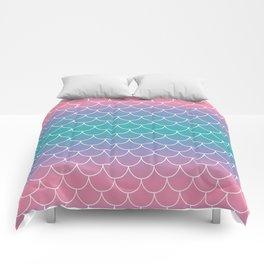 Pastel Mermaid Comforters