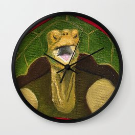 Happy Tortoise Wall Clock