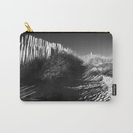 Fencing On The Beach Carry-All Pouch