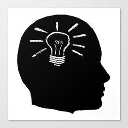 Lightbulb Moment Canvas Print