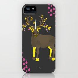Reindeer Unicorn iPhone Case