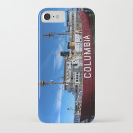 Fireship Columbia iPhone Case