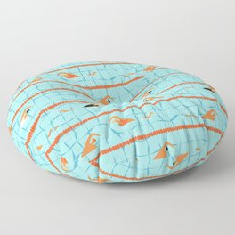 Swimming pool Floor Pillow