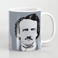 poe Mugs featuring Poe. by Tara Durrant Designs