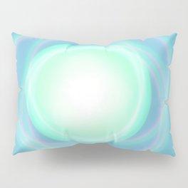Blue sky boreal Pillow Sham