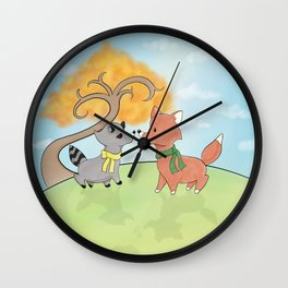 Love in the air Wall Clock