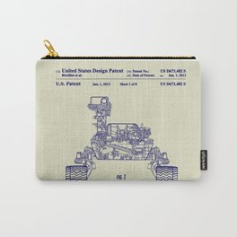 2013 NASA Mars Rover Curiosity Patent Carry-All Pouch
