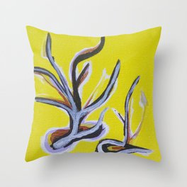 Rosemarie Trockel II Throw Pillow